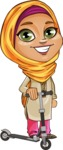 Nasira the Caring Arabic Girl - Trike
