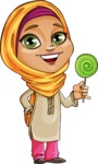 Nasira the Caring Arabic Girl - Candy