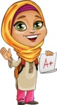 Nasira the Caring Arabic Girl - School 1