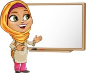 Nasira the Caring Arabic Girl - Presentation 3