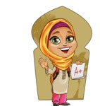 Nasira the Caring Arabic Girl - Shape 6