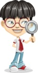 Asian School Boy Cartoon Vector Character AKA Jeng Li - Search