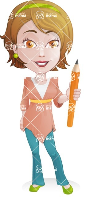 Lucy My-Tunic - Pencil