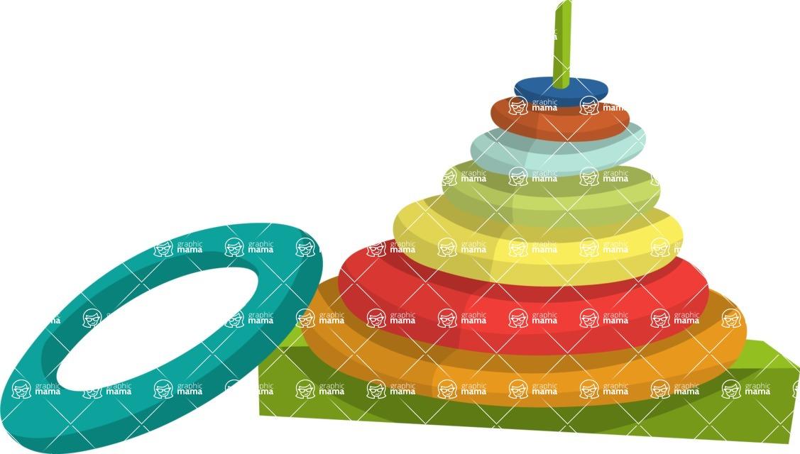 Baby Vectors - Mega Bundle - Stacking Rings Toy