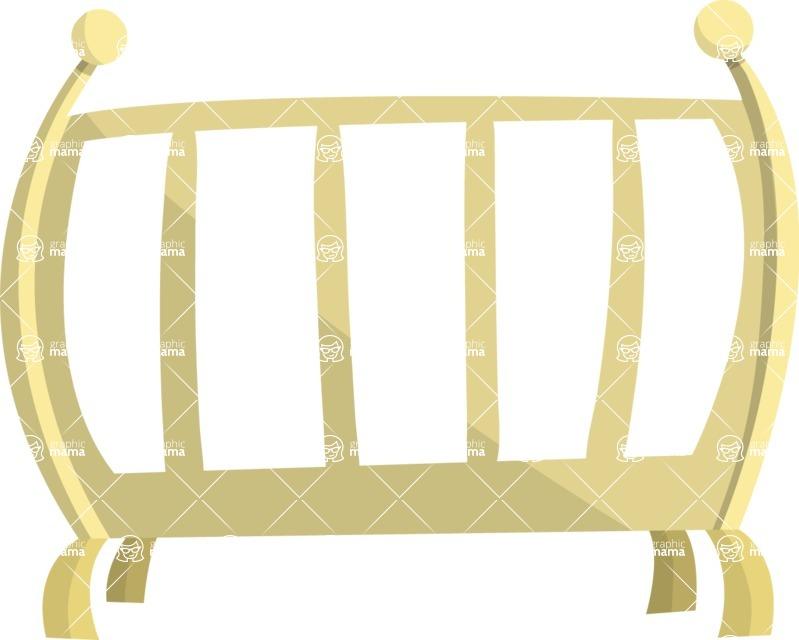 Baby Vectors - Mega Bundle - Baby Crib 1