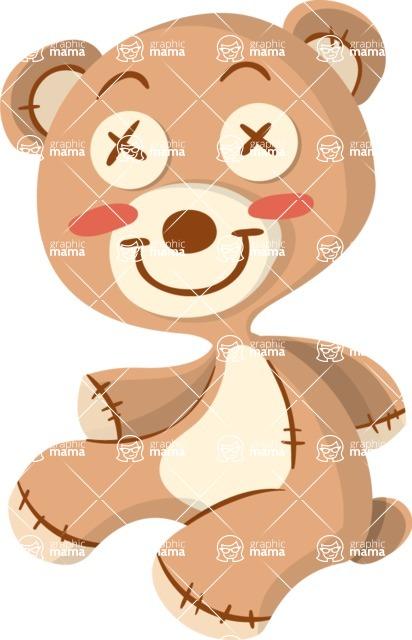 Baby Vectors - Mega Bundle - Stuffed Bear Toy