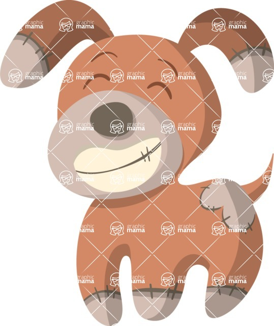 Baby Vectors - Mega Bundle - Stuffed Dog