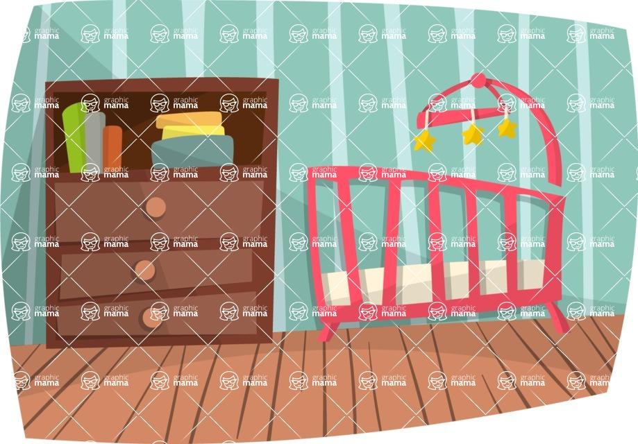 Baby Vectors - Mega Bundle - Nursery Room