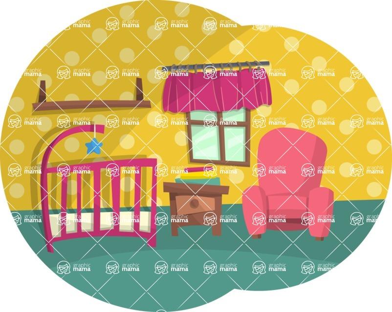 Baby Vectors - Mega Bundle - Baby Room