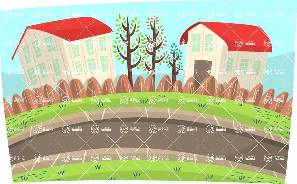 Baby Vectors - Mega Bundle - Suburban Neighborhood