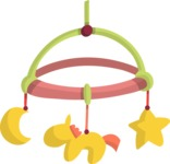 Baby Vectors - Mega Bundle - Baby Crib Hanging Toy