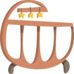 Babies: Peek-a-boo - Baby Crib 2