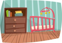 Babies: Peek-a-boo - Nursery Room