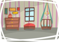 Baby Vectors - Mega Bundle - Baby Bedroom