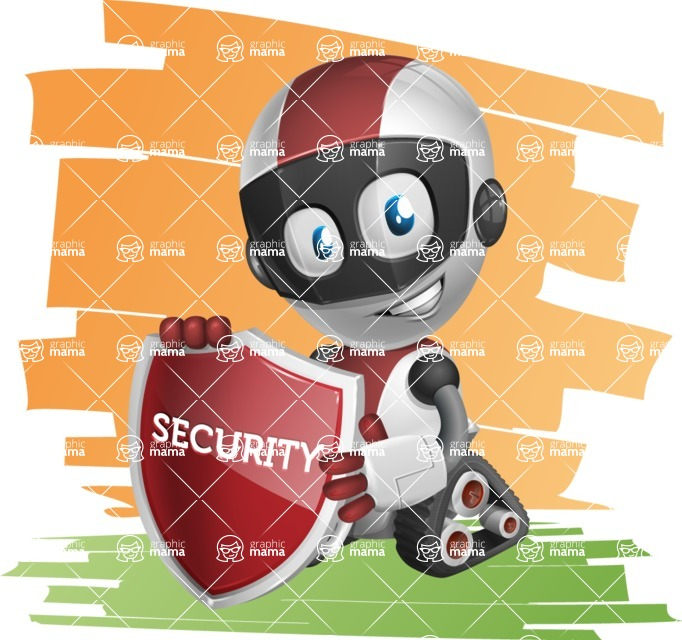 Cute Robot Kid Cartoon Vector Character 112 Illustrations Shape7 Graphicmama