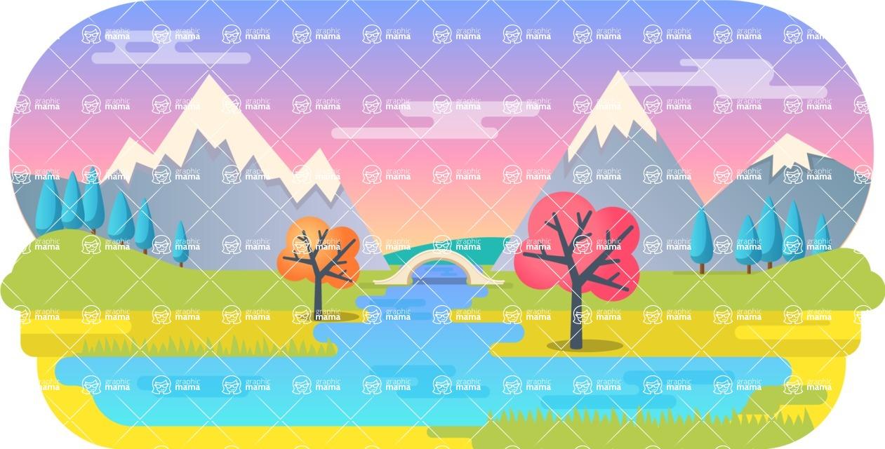 Vector Backgrounds - Mega Bundle - Background 206