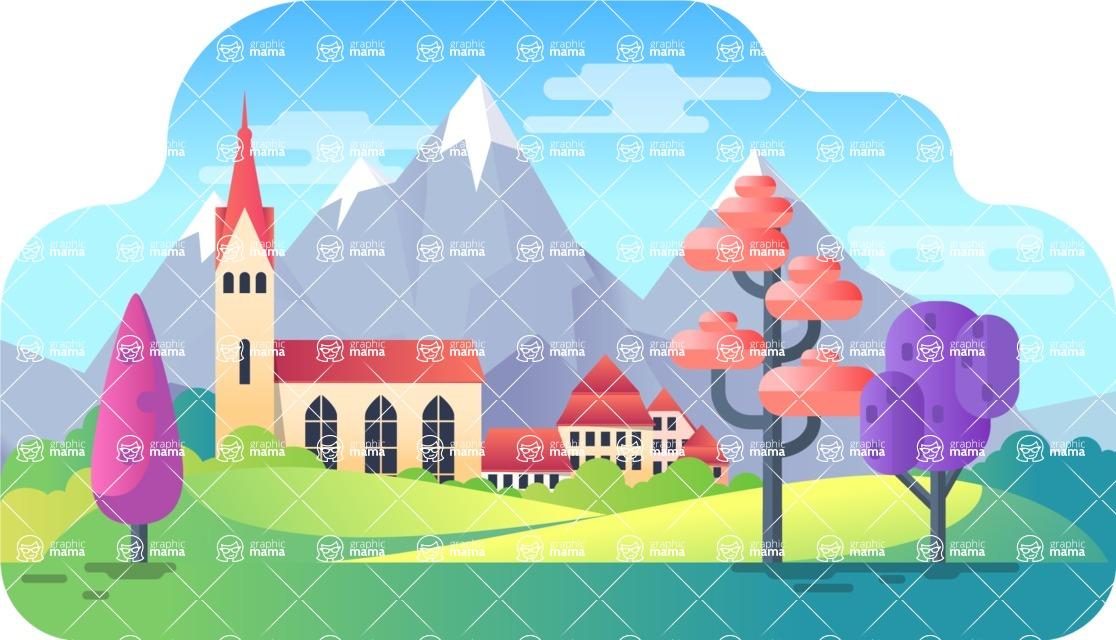 Vector Backgrounds - Mega Bundle - Background 234