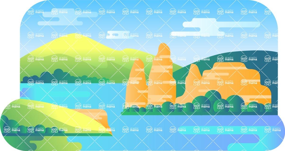 Vector Backgrounds - Mega Bundle - Background 238