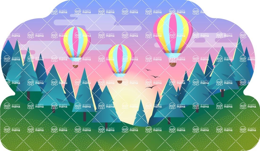 Vector Backgrounds - Mega Bundle - Background 239