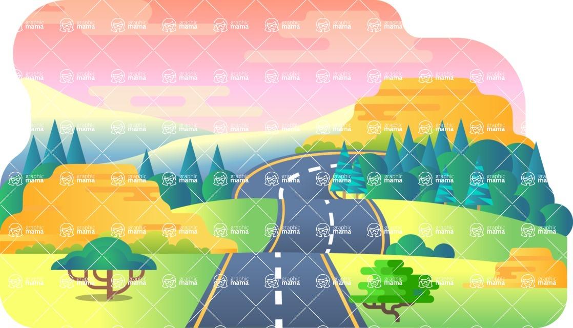 Vector Backgrounds - Mega Bundle - Background 241