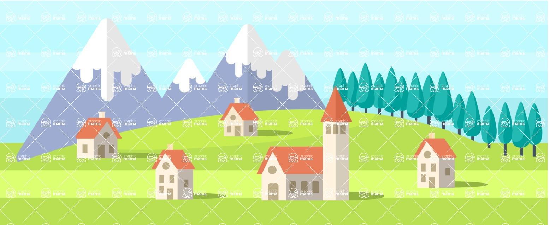 Vector Backgrounds - Mega Bundle - Spring Part 4