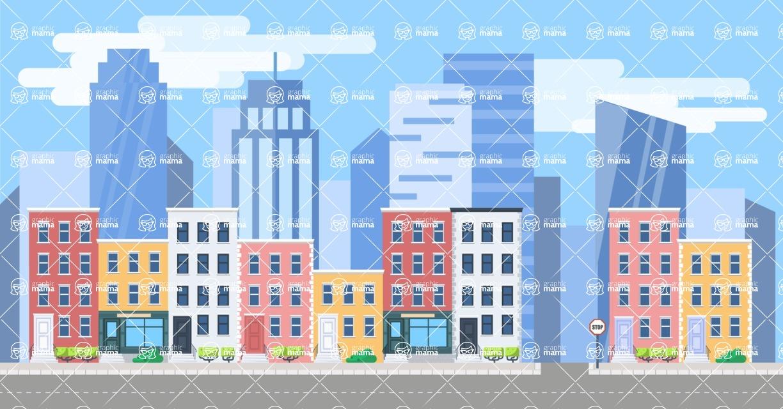 Vector Backgrounds - Mega Bundle - Landscape 8