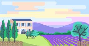 Vector Backgrounds - Mega Bundle - Landscape 12