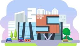 Vector Backgrounds - Mega Bundle - Flat Shopping Center or Mall Illustration Vector Background