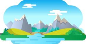 Vector Backgrounds - Mega Bundle - Background 228