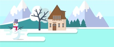 Vector Backgrounds - Mega Bundle - Winter Part 2