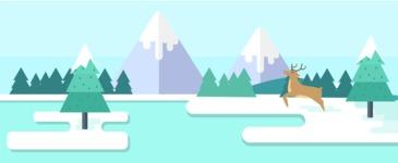 Vector Backgrounds - Mega Bundle - Winter Part 3
