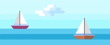 Vector Backgrounds - Mega Bundle - Sea Landscape Part 2