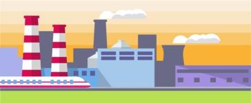 Vector Backgrounds - Mega Bundle - Industrial Landscape Part 3