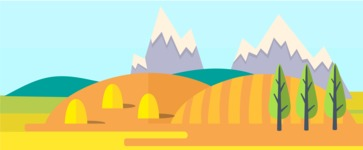 Vector Backgrounds - Mega Bundle - Farm Landscape Part 4