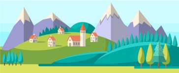 Vector Backgrounds - Mega Bundle - Country Area Part 4