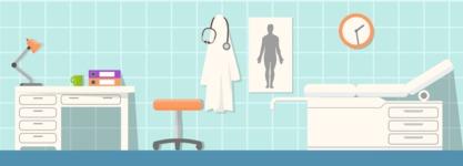 Vector Backgrounds - Mega Bundle - Doctor's Office
