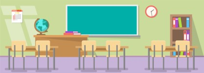 Vector Backgrounds - Mega Bundle - Classroom