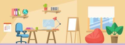 Vector Backgrounds - Mega Bundle - Office