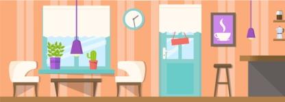 Vector Backgrounds - Mega Bundle - Coffee Shop