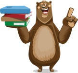 Bear Cartoon Vector Character AKA Barry Bearhug - Book 2