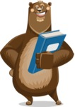 Bear Cartoon Vector Character AKA Barry Bearhug - Book 3