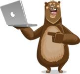 Barry Bearhug - Laptop 1