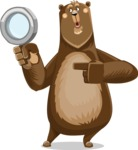 Bear Cartoon Vector Character AKA Barry Bearhug - Search