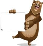 Barry Bearhug - Sign 4