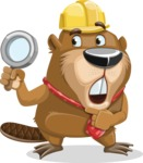 Beaver Cartoon Vector Character AKA Bent the Beaver - Search