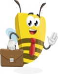 Lee the Business Bee - Brifcase 2