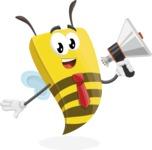 Lee the Business Bee - Loudspeaker