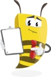 Lee the Business Bee - Notepad 1