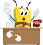 Lee the Business Bee - Office Fever