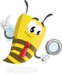 Bee Businessman Cartoon Vector Character AKA Lee the Business Bee - Search